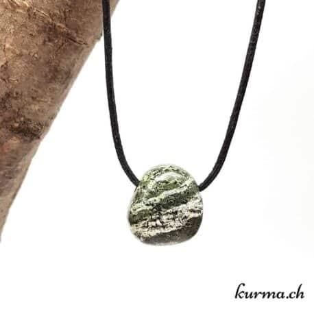 Serpentine Silberauge Pendentif