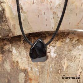 spinelle noire pendentif