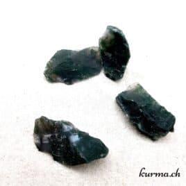 Agate mousse – Pierre brute de poche – 4 à 5cm – N°7460