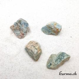 Aigue Marine – Pierre brute de poche – 3.5 à 4.5cm – N°6905