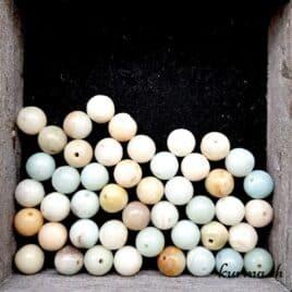 Perles Amazonite 8mm