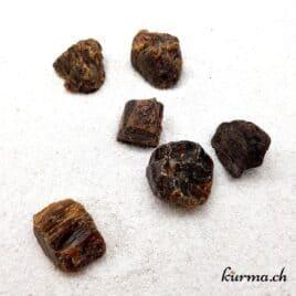 Ambre – Pierre brute de poche – 2 à 3.5cm – N°8386.1