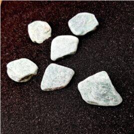 Aventurine verte – Pierre brute de poche – 3.5 à 4cm – N°7378