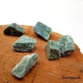 Aventurine verte – Pierre brute de poche – 3.5 à 4cm – N°7885