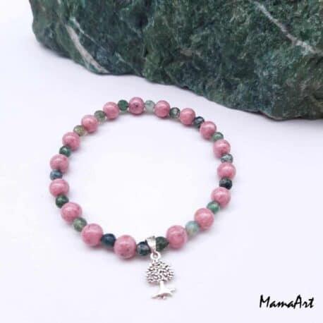 Bracelets personalisés en pierres semi-précieuses