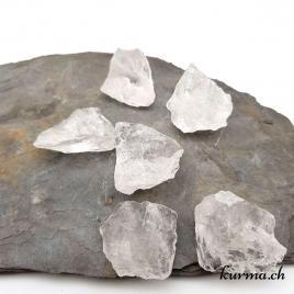 Cristal de roche – Pierre brute de poche – 3 à 4cm – N°7789