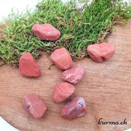 Jaspe rouge – Brute de poche – 3 à 3.5cm – N°7779.1