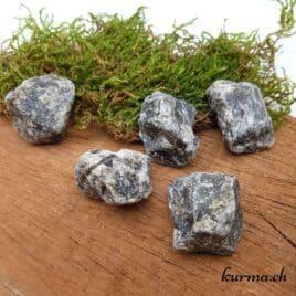 Labradorite – Pierre brute de poche – 3.5 à 4cm – N°7888.1
