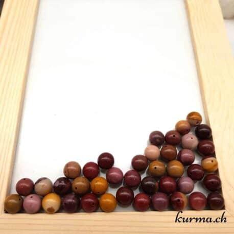 Perles mookaite 10mm