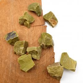 Opale vert – Pierre brute de poche – 2.5 à 3cm – N°6903.1