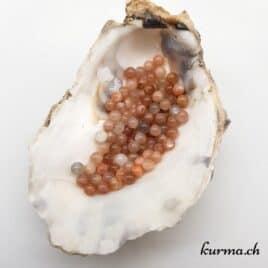 Perles pierre de lune 4mm