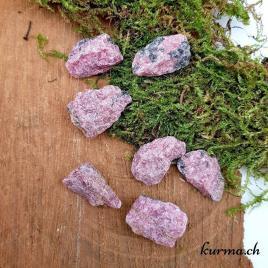 Rhodonite – Pierre brute de poche – 2 à 3cm – N°8393