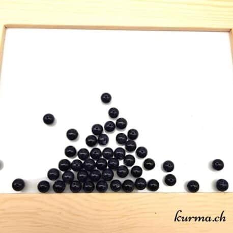 Perles pierre de nuit 8mm