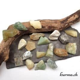 Serpentine – Jade de Chine – Pierre brute – 2.5 à 3.5cm – N°7889.1