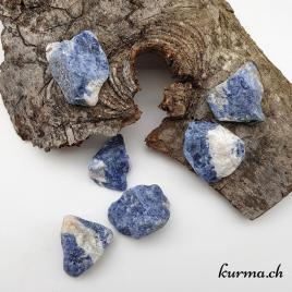 Sodalite – Pierre brute de poche – 3 à 3.5cm – N°6906.1