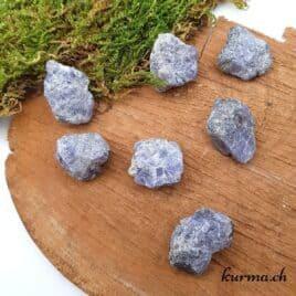 Tanzanite – Pierre brute de poche – 2.5 à 3cm – N°7454.1