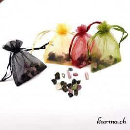 Tourmaline Multicolor brute -sachet de 15gr – 1 à 1.5cm – N°7790.3