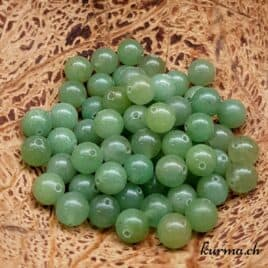 Aventurine verte – Perles 6,5mm – N°7615