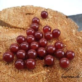 Cornaline agate – Perles 10mm – N°9235