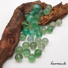 Fluorite – Perles 10-10.5mm – N°9206