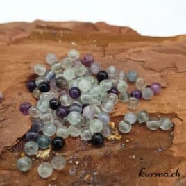 perles fluorite 4mm