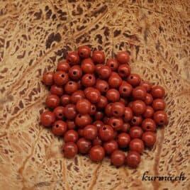 Jaspe Rouge – Perles 4-4.5mm – N°6023
