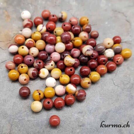 Perles Mookaite 4mm