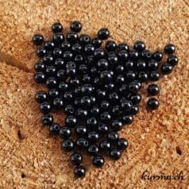 Tourmaline Noire – Perles 4-4.5mm – N°9210
