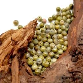 Unakite – Perles 4mm – N°9222