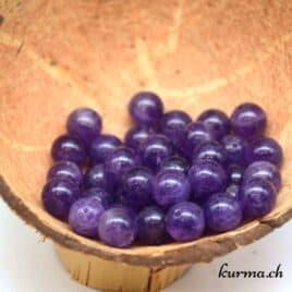 perles amethyste 10mm