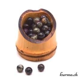 Eudialite – Perles 8mm – N°9118