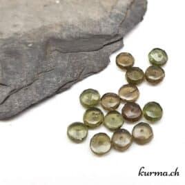 Perles en Moldavite 5mm