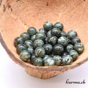 Seraphinite perles