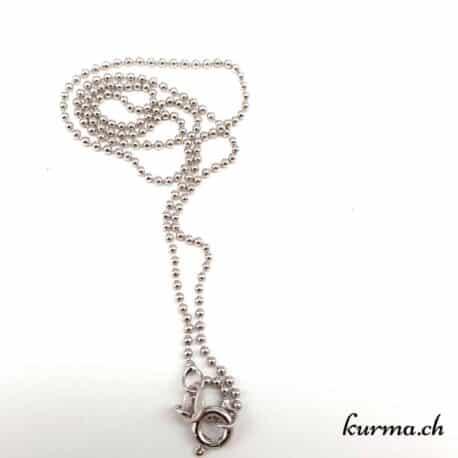 Chaînettes en argent pour pendentifs et colliers, chaînes en argent comme bijou.
