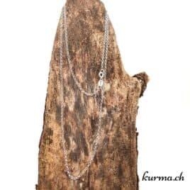 Chaine Forçat en argent 925 – 55cm