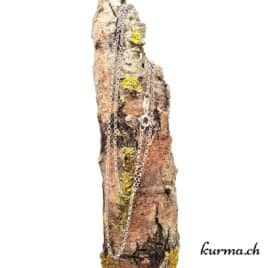 Chaine Forçat en argent 925 – 70cm rhodié