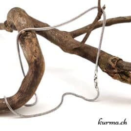 Chaine Serpent rond en argent 925