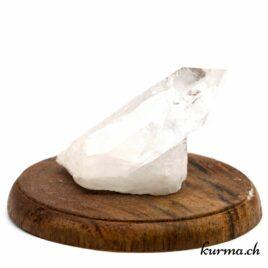 Cristal de roche en pointe