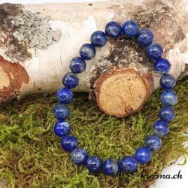 Bracelet femme Lapis-lazuli 8mm