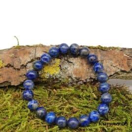 Bracelet Lapis-lazuli 9mm
