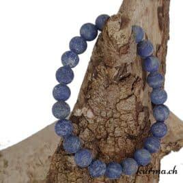 Bracelet Lapis-Lazuli mat 8.5mm AA