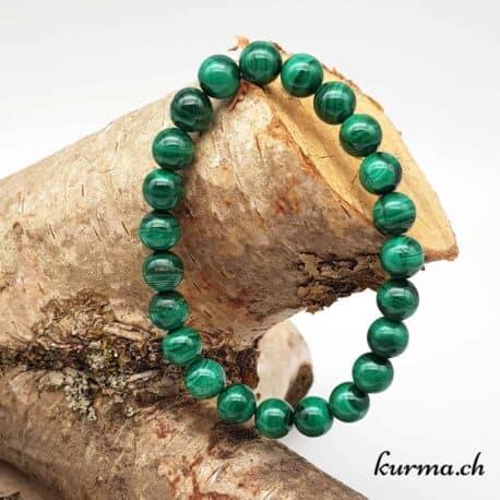 Bracelet femme Malachite 8mm