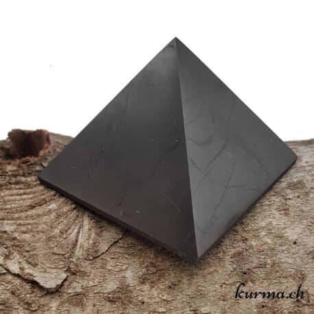 pyramide en shungite 7x7cm