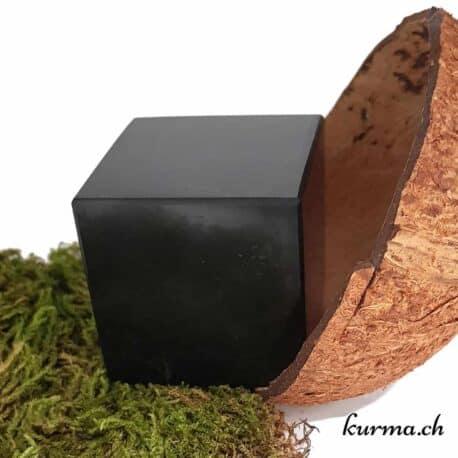 cube anti ondes nocives en shungite, cube de shungite