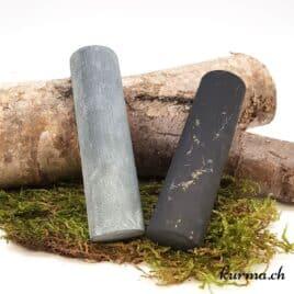 Cylindre de Pharaon Shungite et Stéatite mate