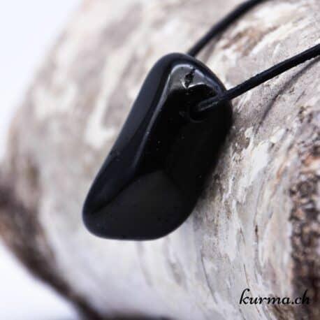 Pendentif en Tourmaline noire
