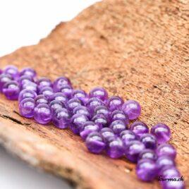 Perles Améthyste A 8mm