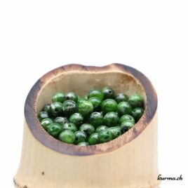 Perles Chrome Diopside 5mm