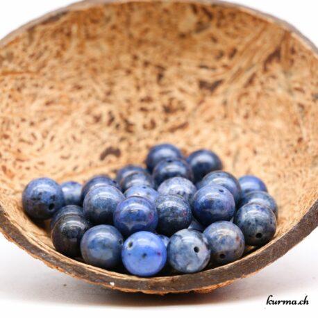 Perles Dumortiérite 10mm