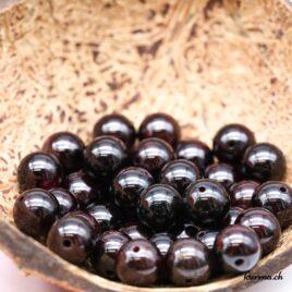 Perles Grenat 10mm
